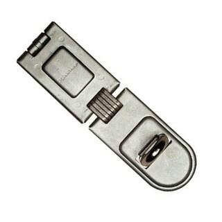"Master Lock 720DPF High Security Single Hinge Hasp, 6-1/4"""