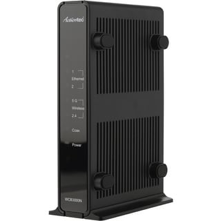 Actiontec WCB3000N01 Actiontec WCB3000N01 MoCA Dual-Band Wireless Extender - Retail - 2.40 GHz, 5 GHz - 2 x Network (RJ-45) -