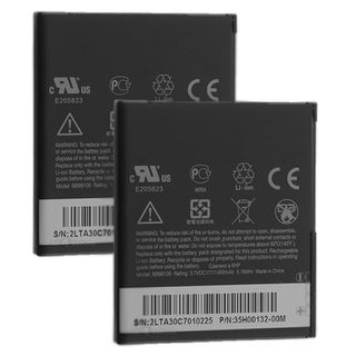 Replacement Battery For HTC BB99100 (2 Pack)