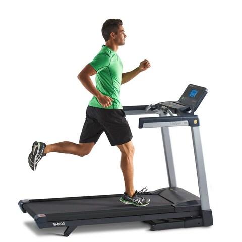 LifeSpan TR4000i Folding Treadmill - Black