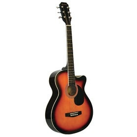 "Main Street 38"" Acoustic Cutaway Guitar"