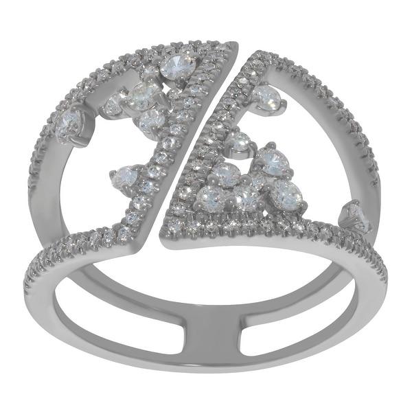 10k Gold Prism Jewel 0.21 Carat Round G-H//I1 Natural Diamond Stylist Ring