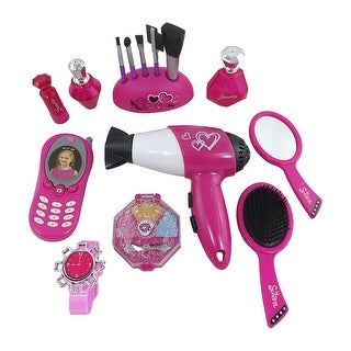 Envo Toys Beauty Play Set Includes Hair Dryer & Much More