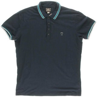 Diesel Mens Pique Contrast Trim Polo Shirt - XXL