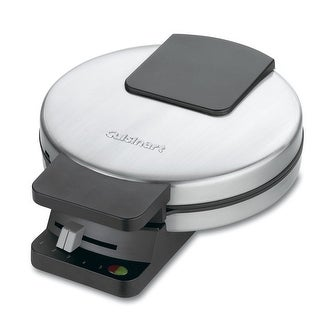 Cuisinart WMR-CA Round Classic Waffle Maker, Stainless Steel