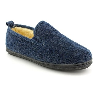 Slippers International Perry Men Round Toe Canvas Blue Slipper