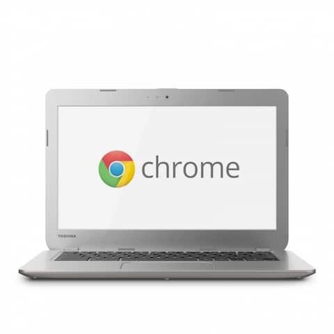 """Toshiba CB30-A3120 Chromebook Celeron 2955U X2 1.4GHz 2GB 16GB SSD 13.3""""(Certified Refurbished)"""