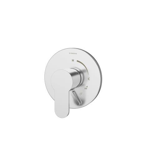 Symmons S-6700TS-TRM Identity Pressure Balanced Valve Trim with Lever Diverter - Valve Not Included