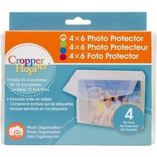 "Cropper Hopper Photo/Negative Protector 4/Pkg-4""X6"""