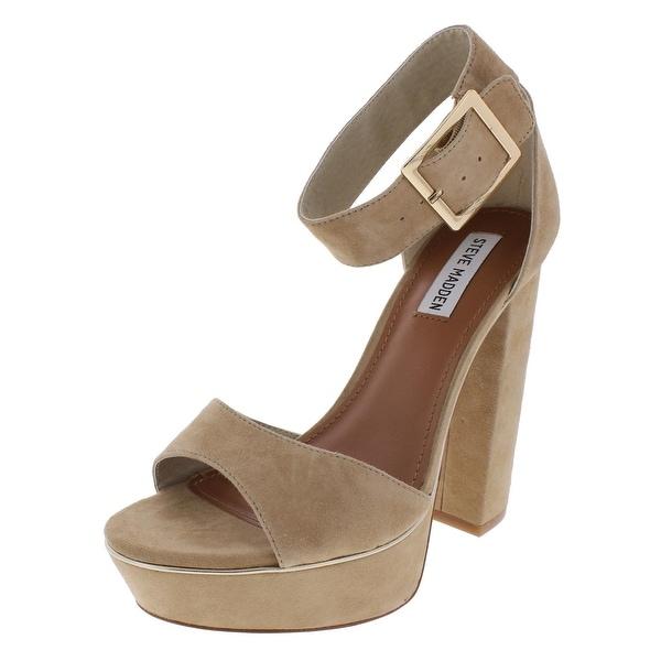 Steve Madden Womens Kiree Dress Sandals Open Toe Platform - 10 medium (b,m)