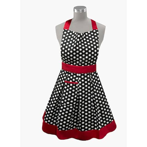 Womens Kitchen Apron 100% Cotton Made in India