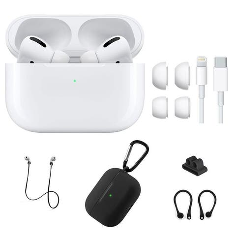 Apple AirPod Pro with Black Silicone Accessories