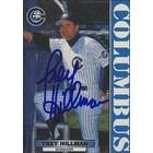 Trey Hillman Columbus Clippers Yankees Affiliate 1999 Blueline Autographed Card Minor League Card