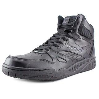 Reebok Royal Hi Round Toe Leather Basketball Shoe