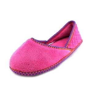 Muk Luks Beverly Micro Chenille Women Round Toe Canvas Slipper