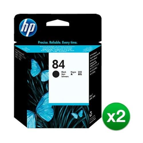 HP 84 Black DesignJet Printhead (C5019A) (2-Pack)