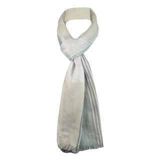 Style & Co. Women's Striped Shimmer Wrap Scarf - os