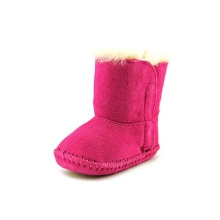 Ugg Australia Caden Infant  Round Toe Suede Pink Snow Boot