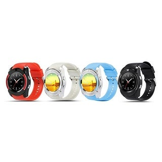 TechComm V8 Smart Watch Fitness Tracker with Camera