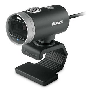 Microsoft H5D00013B Microsoft LifeCam Cinema 720p HD Webcam - Black