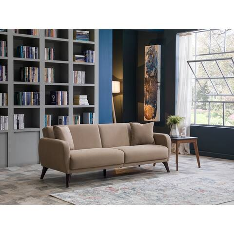 "Hudson Bellona Upholstered Sofa-In-A-Box - 33""x79""x31"""
