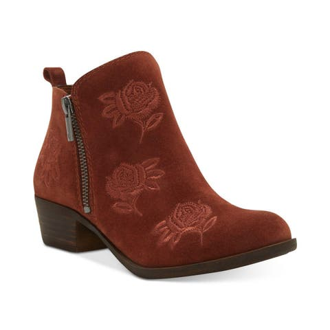 44501c94a91f Lucky Brand Womens Basel 5 Closed Toe Ankle Fashion Boots