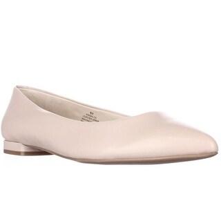 Nine West Onlee Pointed Toe Ballet Flats - Light Pink