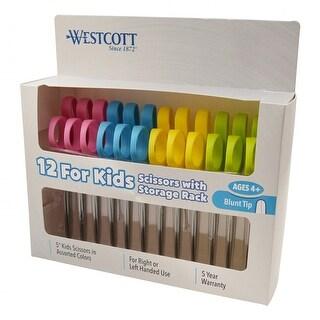 Kleencut Kids Scissors 12Ct Class Pack Blunt
