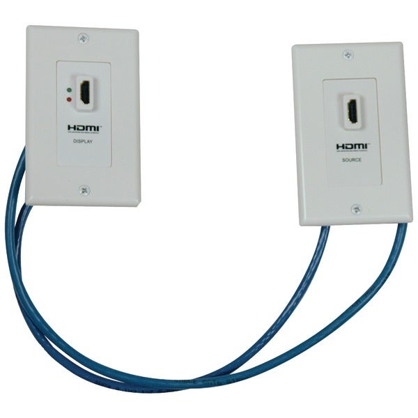 Tripp Lite P167-000 Hdmi(R) Over Dual Cat-5/Cat-6 Wall Plate Extension Kit With Transmitter & Receiver