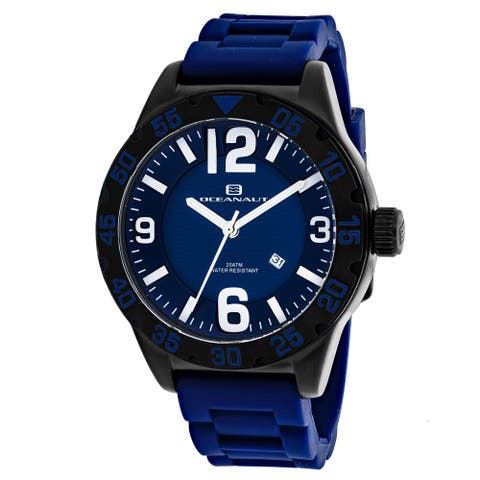 Oceanaut Men's Aqua One OC2715 Blue Dial Watch
