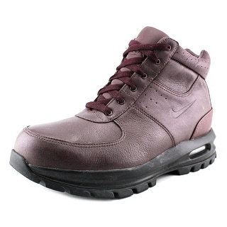 Nike Air Max Goaterra Men Round Toe Leather Burgundy Hiking Boot