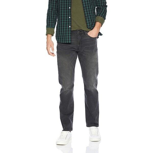 Goodthreads Men's Straight-Fit Jean, Washed Black, 42W x 28L - 42W x 28L