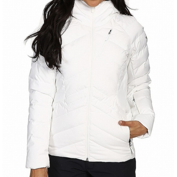The North Face White Women's Size XS Quilted Full-Zipped Jacket