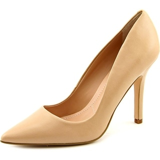 Charles By Charles David Sweetness Women  Pointed Toe Leather Nude Heels
