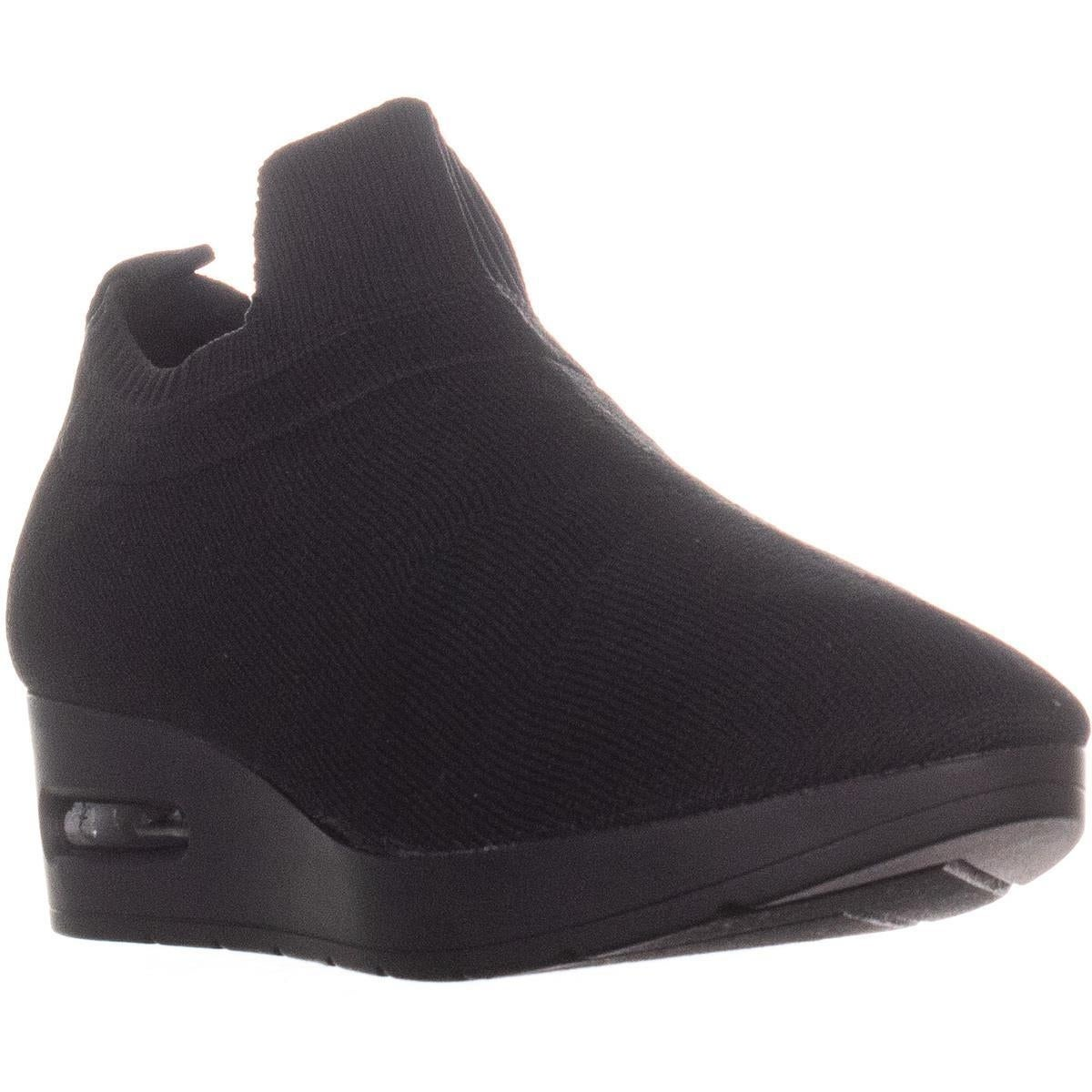 Shop DKNY Angie Slip-On Wedge Sneakers