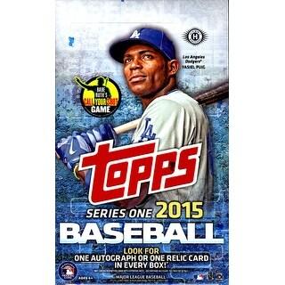 2015 Topps MLB Baseball Series 1 Hobby Box - Factory Sealed - 1 Hit Per Box