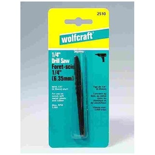 """Wolfcraft 2510 Router Drill Bit For Irregular Contours 1/4"""""""
