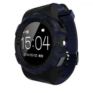 TechComm V11S Smart Watch with Bluetooth, Fitness Tracker and Camera