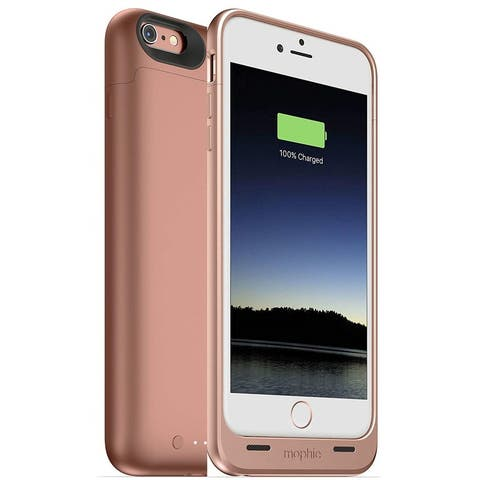 mophie Juice Pack Protective Battery Charging Case for Apple iPhone 6s/6 PLUS - Rose Gold (Refurbished) - Rose Gold