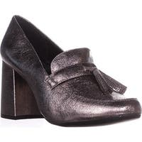 Kenneth Cole REACTION Happy Change Loafer Heels, Hematite