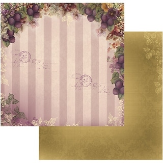 "Hearts Ease Double-Sided Paper 12""X12""-Orchard Delight"