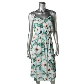 Minkpink Womens Floral V-Neck Sundress
