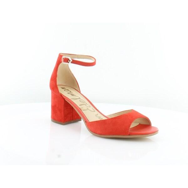 447773147960 Shop Sam Edelman Susie Women s Heels Blood Orng - 10 - Free Shipping ...