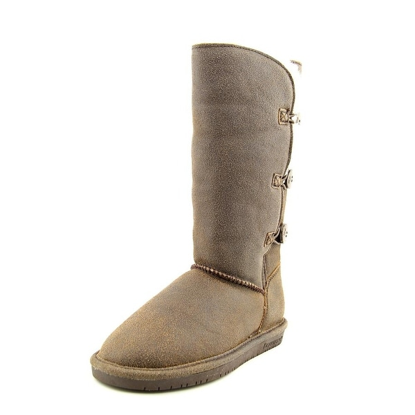 Bearpaw Lauren Round Toe Suede Winter Boot