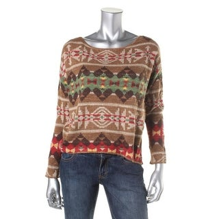 Denim & Supply Ralph Lauren Womens Pullover Sweater Knit Pattern - M