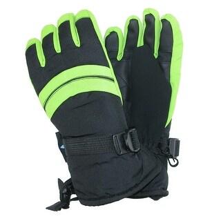 Grand Sierra Boy's 8-12 Waterproof Snowboard Glove with Adjustable Strap
