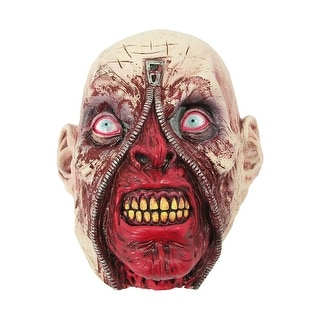 Forum Novelties Zipper Head Mask - Red