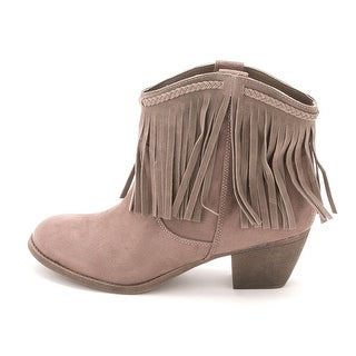 ROCK & CANDY Womens HALEIGH Round Toe Ankle Fashion Boots