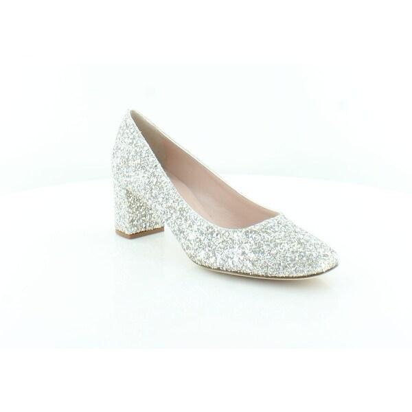 7355988b345f Shop Kate Spade Dolores Women s Heels Silver Gold Glitter - Free ...