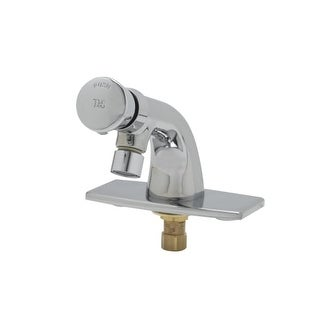 T And S Brass B 0805 VR Single Temperature Metering Faucet With Push Button